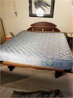 King sized platform bed