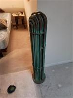 Copper coil art