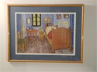 Van Gogh art show poster
