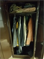 Cabinet and clothes