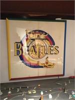 Beatles framed poster