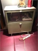 vintage surplus file cabinet