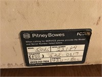 Vintage Pitney Bowes mail scale