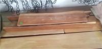 Artist created wood storage Box