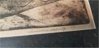 Signed & numbered intaglio print Schultz