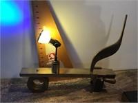 Custom made lamp