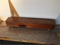 Custom-made wood box