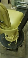 Vintage yellow dentist chair