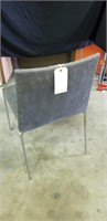 Modern upholstered office chair in Gray