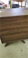 Mid century modern style chest of drawers