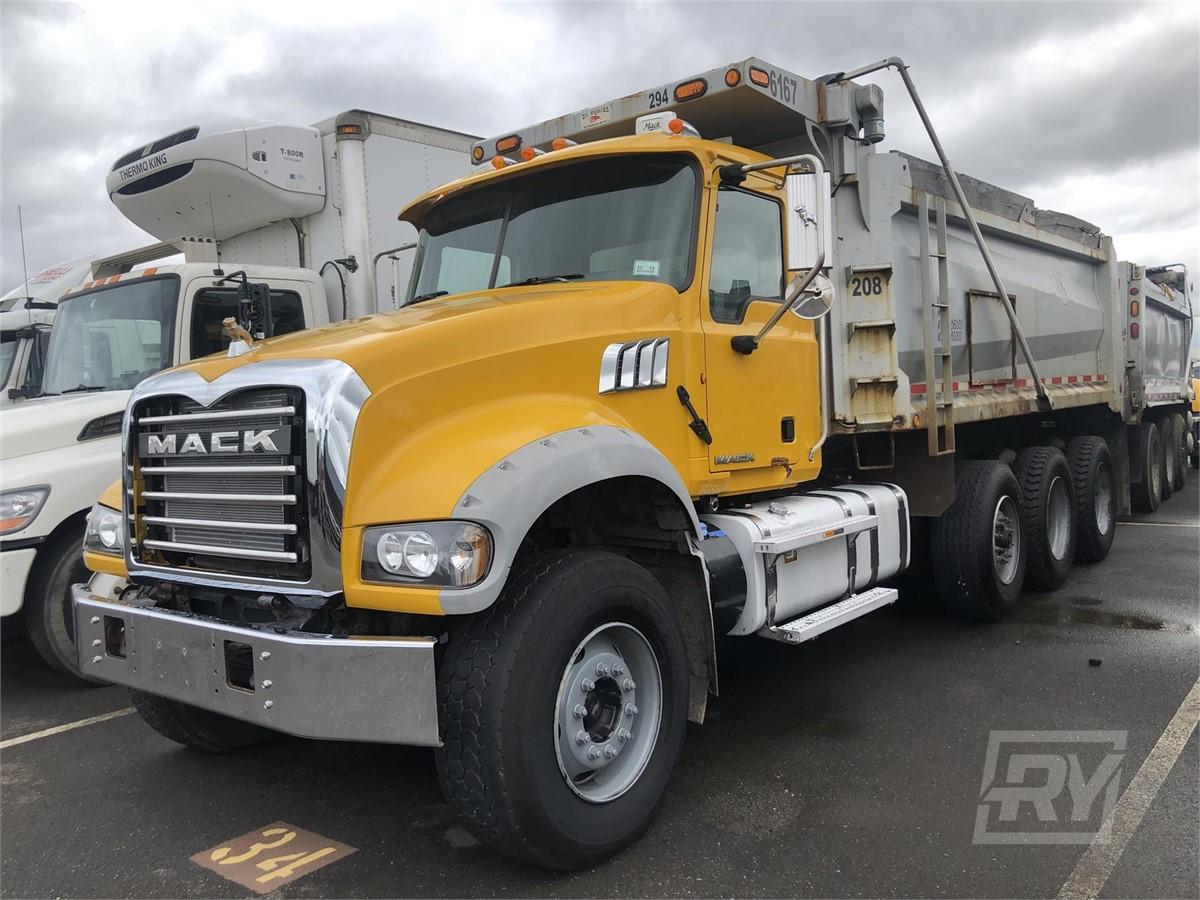 Gabrielli Truck Sales >> RentalYard.com | 2014 MACK GRANITE GU713 For Rent