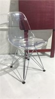 Child's Lucite Chair & Folding Table K14C