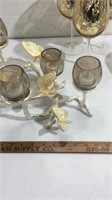 Gold Toned Decorative Tabletop Items K14B