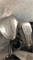 3 Golf Club Sets & 4 Bags Q12A