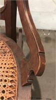4 Vintage/Antique Wooden Chairs Q12A