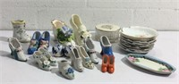 Vintage China Collectible Shoes & More K13C