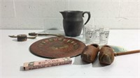 Vintage Pewter Pitcher and More K13C