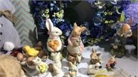 Huge Lot of Easter & Valentine's Day Decor K14D