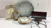 Assorted Battery Operated Clocks M12A