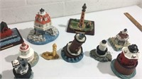 13 Collectible Lighthouses K14B
