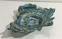 Beautiful Art Glass Dish K15A