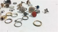 50 Vintage & Contemporary Fashion Rings KJC