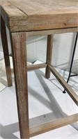 Three Plant Stands & Small Table K12B