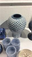 Decorative Items in Blue Tones K13B