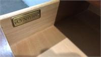 Century Dovetailed Mahogany Console Table Q12C