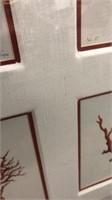 Large Framed Rubrum Art Q15D