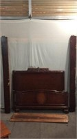 Wooden Full Size Bed Frame T13A