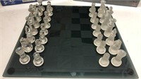 Glass Chess Set & 2 New Board Games Q12C