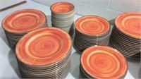 Sets of 25 Carlisle Melamine Dishware K13A