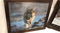 4 Pieces of Wolf Wall Decor Q15E