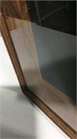 Vintage Wood and Glass Display Case K13C