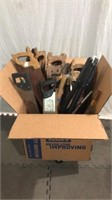 Large Box of Hand Saws & More Q11B