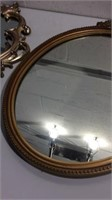 Pair of Gilded Wall Mirrors K13C
