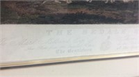 """Vintage Print """"The Bedale Hunt"""" K15D"""