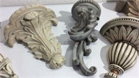 Collector of Six Decorative Wall Shelves K13C
