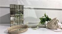 Mid Century Swan Lamp & Display K13C