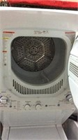 White GE Stacked Washer & Dryer Y3B