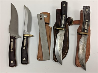 Lot Of 4 Schrade Old Timer Knives Other Items For Sale In