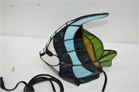 Stained Glass Fish Lamp (Works)