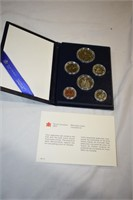 1983 Canadian Mint Coin Set
