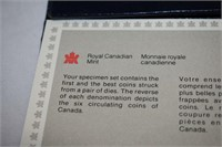 1984 Canadian Mint Coin Set