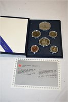 1986 Canadian Mint Coin Set