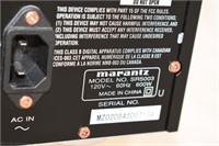 Marantz Sound Receiver with Remote, etc.