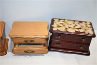 (6) Jewelry Boxes