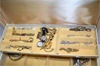 Large Jewelry Box with Contents