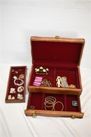 Jewelry Chest with Contents